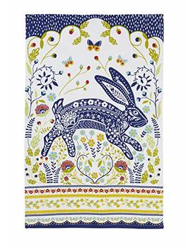 "Ulster Weavers 29.1"" X 18.9"" Woodland Hare Cotton Tea Towel by Ulster Weavers"
