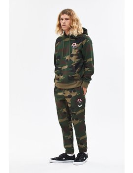 Bruce Camouflage Sweatpants by Rvca