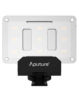 Amaran Al M9 Lighting Up Pocket Sized Led Cri/Tlci 95+ 9 Smd Bulbs 9 Steps Dimming 5500 K Max 900lux Internal Battery With Micro Usb Charging For Sony/Canon/Nikon/Olympus Also For Mobile Phone by Aputure