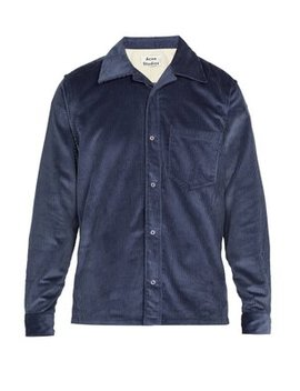 Cotton Corduroy Shirt by Acne Studios