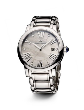 Classic 38mm Quartz With Diamond Markers by David Yurman
