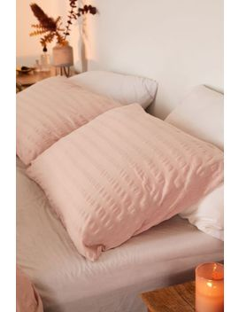 Puckered Jersey Sham Set by Urban Outfitters