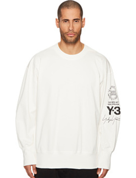 Graphic Crew Sweater by Adidas Y 3 By Yohji Yamamoto