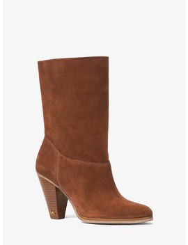 Divia Suede Ankle Boot by Michael Michael Kors