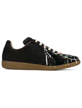 Maison Margielapaint Drop Replica Sneakershome Men Maison Margiela Shoes Low Tops by Maison Margiela
