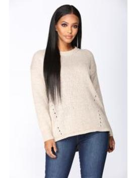Feelin' Cozy Sweater   Taupe by Fashion Nova