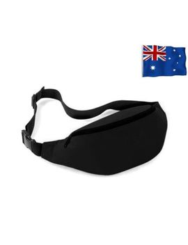 Running Sport Bum Bag Fanny Pack Travel Waist Money Belt Zip Hiking Pouch Wallet by Unbranded