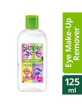 Simple X Little Mix Dual Effect Eye Make Up Remover 125ml by Simple