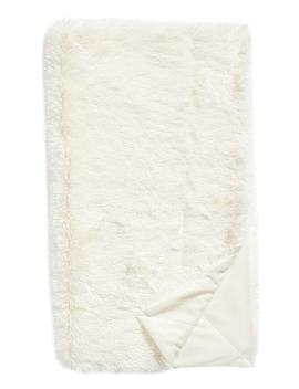 Feather Faux Fur Throw by Nordstrom At Home