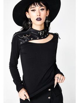 Punk Long Sleeve Shirt by Punk Rave