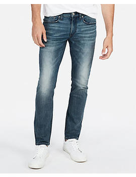 Skinny Medium Wash Stretch Jeans by Express
