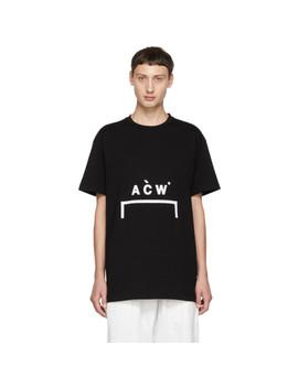 Black Bracket Logo T Shirt by A Cold Wall*