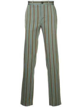 Kent & Curwenstriped Trousershome Men Kent & Curwen Clothing Regular Fit & Straight Leg Pantsshirt Jacketstriped Trousers by Kent & Curwen