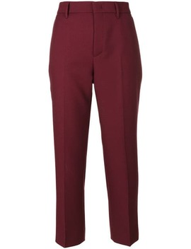Pradacigarette Trousershome Women Prada Clothing Cropped Pants by Prada