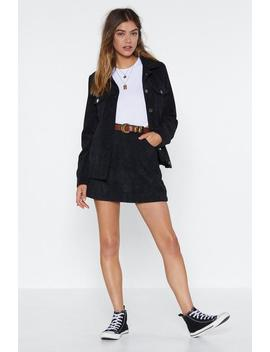 All A Cord Mini Skirt by Nasty Gal