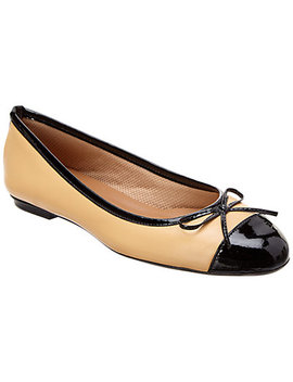 French Sole Tolkien Leather Flat by French Sole
