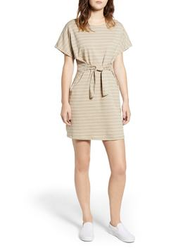 Tie Front Knit Dress by