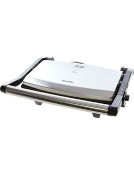 Silver Sandwich Press 26x10cm by Breville