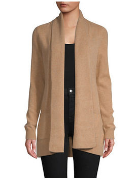 Open Front Cashmere Cardigan by Lord & Taylor