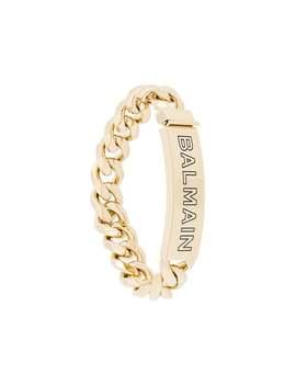 Logo Chain Bracelet by Balmain