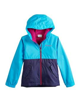 Girls 4 18 Columbia Rain To Fame Jacket by Kohl's