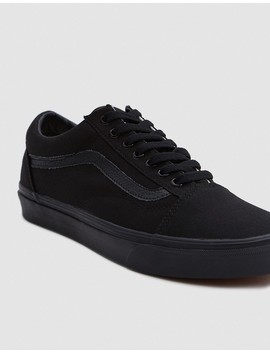 Old Skool In Black/Black by Vans