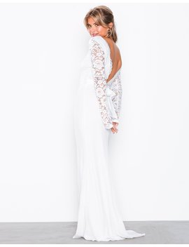 Open Back Bow Gown by Nly Eve