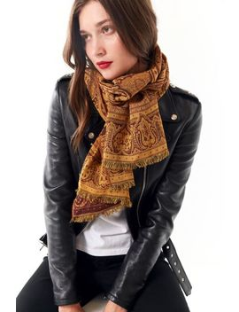 Jacquard Tapestry Scarf by Urban Outfitters