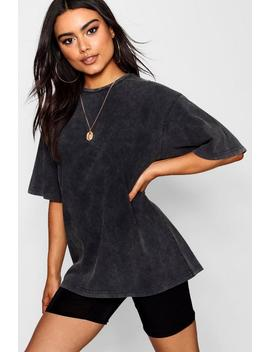 Washed Oversized T Shirt by Boohoo