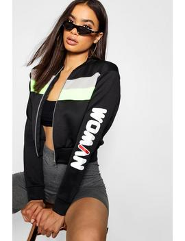 Bomber Woman by Boohoo