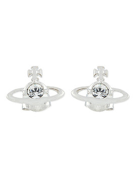 Nano Solitaire Earrings by Vivienne Westwood Jewellery