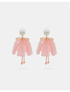 Dolly Flower Drop Earrings by Ted Baker