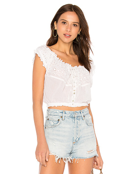 Eyelet You A Lot Top by Free People