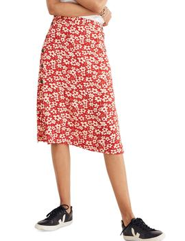 Side Button Skirt by Madewell