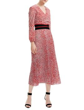 romilda-leopard-print-midi-dress by maje