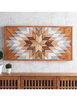 Geometric Burst Wood Wall Decor by Pier1 Imports