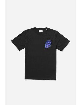Blue Orchid T‑Shirt Black           White Orchid T Shirt   White              Ritchie Bar Overlap Short   Black              Mickey Tencel Stripe Button Down Shirt   Cobalt              Varick Pant   Black by Saturdays Nyc