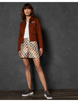 Boxy Cotton Jacket by Ted Baker