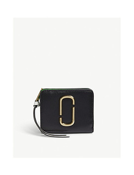 Snapshot Mini Saffiano Leather Purse by Marc Jacobs