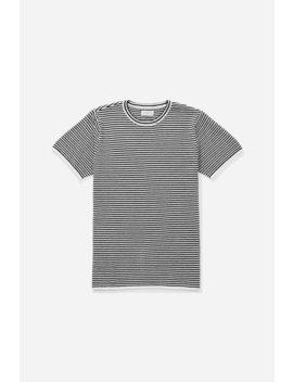Brandon Stripe Short Sleeve Shirt Black           Trent Solid All Purpose Short   Black              Water Floral T Shirt   White              Underlined Standard Box T Shirt   White              Saturdays Nyc T Shirt   Midnight by Saturdays Nyc