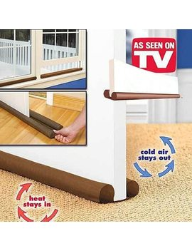 Superior Doorstop Double Side  80cm Door Window Twin Draft Guard Dust Resisted Sash Stopper Door Cleaning Strip by Ali Express