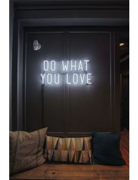 "New Do What You Love Neon Light Sign 14""X10"" by Ebay Seller"