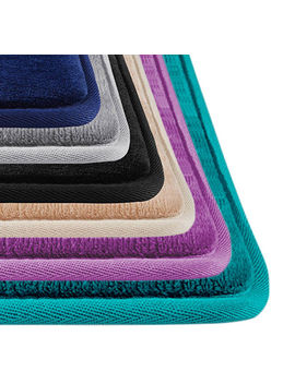 Genteele Memory Foam Bath Mat Non Slip Absorbent Super Cozy Velvet Bath Carpet by Ebay Seller