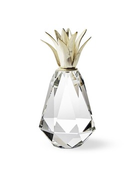 Faceted Crystal Pineapple by Williams   Sonoma