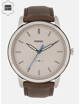 Fossil Men Beige Analogue Watch Fs5306 I Or by Fossil
