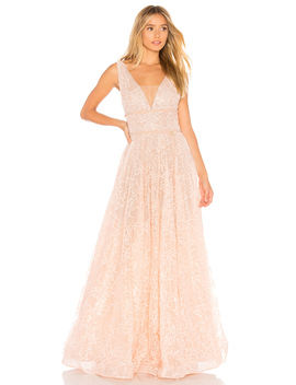 Emily Blush Gown by Bronx And Banco