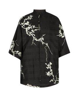 Floral Kimono Shirt by Haider Ackermann
