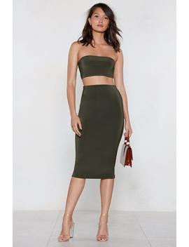 We're In This Together Bandeau And Skirt Set by Nasty Gal