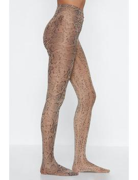 Snake 'em Wait Tights by Nasty Gal