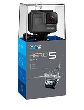 gopro-hero5-black-videocamera-subacquea-4k,-fino-a-10-m,-sensore-cmos-da-12-mp,-nero by gopro